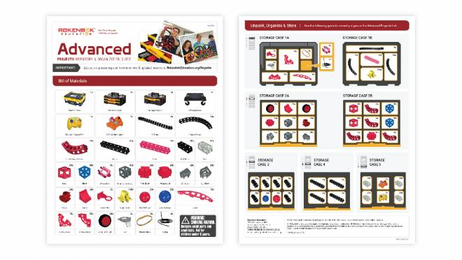 Image of Advanced Projects STEM Lab Kit Inventory and Organization Guide