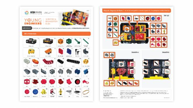 Image of Young Engineers STEM kit Inventory and Organization Guide
